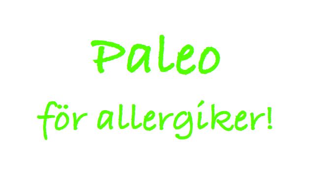 Paleo för allergiker
