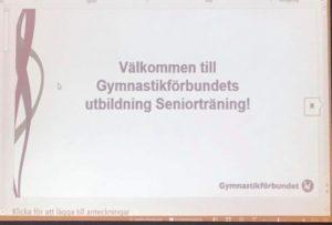 Seniorträning